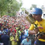 Campeón del Tachira al Tour Colombia
