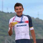 Carapaz niño en Canapro a campeón olímpico